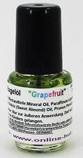 4,5ml Nagelöl, Duft: Grapefruit, Pflege für die Nägel, 4,5 ml Nagel Öl, Nr. 02