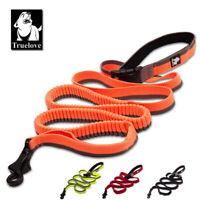Truelove Waistworn Dog Lead Leash Anti Shock Adjustable Bungee Rope for Running
