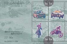 Finland 1995 MNH Sheet - Motor Sports - Mikkola, Kankkunen, Mäkinen and Ahvala