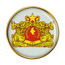 Burma Myanmar Pin Badge