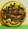 Wandteller - Souvenir Jerusalem  Heilige Stadt Handbemalt Zierteller D 17cm