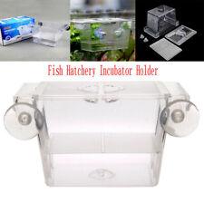Aquarium Fry Babys Fish Tank Breeding Breeder Box Nursery Hatchery Incubator Net