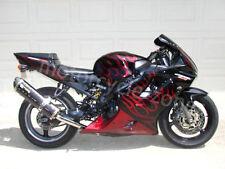 Red Flame Injection Complete Bodywork Fairing F Honda 2001-2003 02 CBR 600 F4i