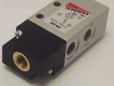 Camozzi 338-035, 3/2, 1/8 bsp pilote exploités, printemps retour valve, 2 position