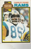 FREE SHIPPING-MINT TO NRMINT-1978 TOPPS #366 Charley Young Rams