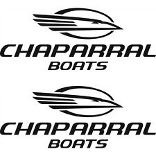 2 Chaparral Boat TRAILER LOGO GRAPHICS DECALS -45