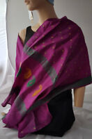Pure Silk Scarves Made in Scotland from Vintage Silk knitwitzuk.