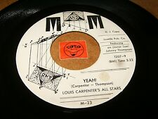 LOUIS CARPENTER'S ALL STARS - YEAH - CHA CHA BOOGIE  / LISTEN - MOD JAZZ POPCORN