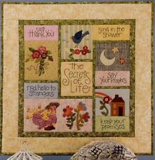 Secrets of Life Quilt Pattern, Art to Heart # 153P by Nancy Halvorsen