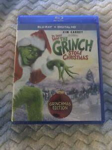 Dr Seuss How The Grinch Stole Christmas Grinchmas Edition Blu-ray+Digital SEALED