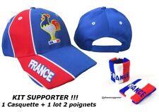 CASQUETTE + BRACELET FRANCE no écharpe drapeau maillot fanion scarf bufanda
