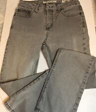 Jones New York Jeans Lexington Straight Stretch Women's Gray Size 4