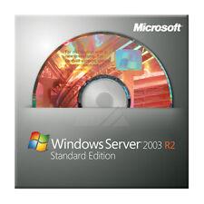 ► Microsoft Windows Server 2003 R2 Sp2 Standard voll deutsch 5 Cal P73-03668