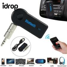 idrop Wireless Bluetooth 3.5mm AUX Audio Stereo Music Home Car Receiver Adapter