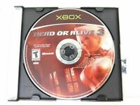 Dead or Alive 3 (Microsoft Xbox) Disc-Only Cleaned and Tested