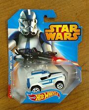 Hot Wheels Star Wars 501st Clone Trooper Car #7 2014