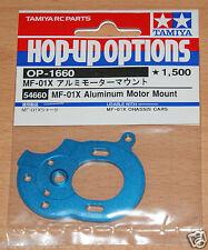 Tamiya 54660 MF-01x alluminio Motor Mount (MF01x/Jimny/G320), Nuovo con imballo