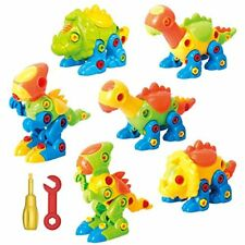 Dinosaur Toys Take Apart Toys With Tools Pack of 6 Dinosaurs