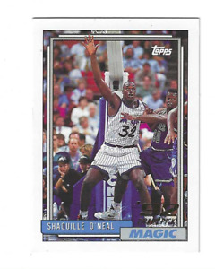 SHAQUILLE O'NEAL 1992/1993 TOPPS ROOKIE RC #362 $50.00 LOS ANGELES LA LAKERS