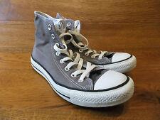 Converse CT All Star Grey Canvas Sneaker alte taglia UK 4 EUR 36.5