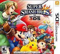 Super Smash Bros. (Nintendo 3DS, 2014) Brand-new, sealed
