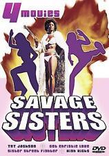 TNT Jackson / Get Christie Love / Sister Street Fighter / High Kicks (DVD) NEW