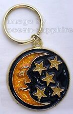 MOON and STARS Key Ring Keychain Key Chain  NEW Great gift!