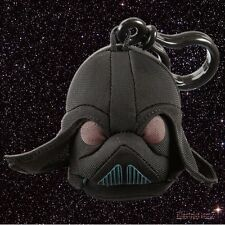 Angry Birds Star Wars Backpack Clip - Darth Vader Black Plush Soft Keyring Toy