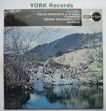 ECS 512 - DVORAK - Cello Concerto FOURNIER / KUBELIK Vienna PO - Ex LP Record