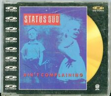 Status quo CD-video Ain 't Complaining/in the Army Now (Remix) © UK 1988