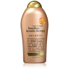 OGX (Organix) EVER STRAIGHT BRAZILIAN KERATIN THERAPY SHAMPOO 19.5OZ