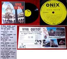 LP Viva Quito! (Onix LP 8048) Ecuador