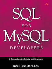 USED (GD) SQL for MySQL Developers: A Comprehensive Tutorial and Reference