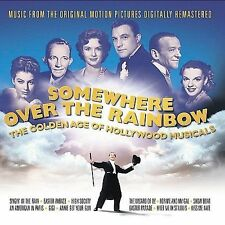 Somewhere Over the Rainbow:The Golden Age of Hollywood Musicals (Rhino 2CD) NEW!