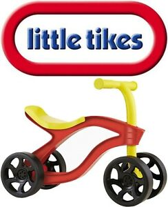 Little Tikes SCOOTEROO Childs Ride Along Scooter Trike Riding Toy Brand New