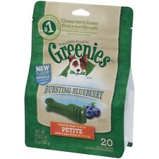 Greenies For Dogs Blueberry Flavour Dental Treats Petite 340g