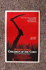 Children of the corn Lobby Card Movie Poster