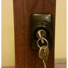 Storm Door Keyed Deadbolt IR-DB-02-ORB 1 Inch Thick Door