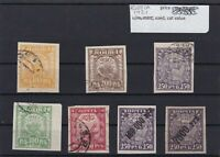 RUSSIA   MOUNTED MINT OR USED STAMPS ON  STOCK CARD  REF R976