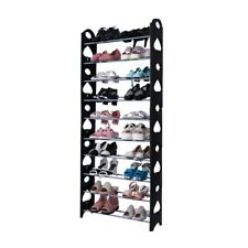 10 Tiers Shoe Rack Organizer Easy Assembled Shoe Tower Stand Sturdy Storage
