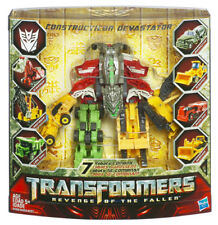 Transformers Revenge Of The Fallen 7 ROBOTS Combine CONSTRUCTION DEVASTATOR