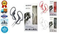 Genuine Sony MDR-AS210 Active Sport In-ear Headphones Ear-clip Music Earbuds