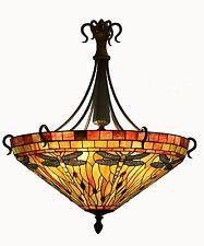 Tiffany Style Ceiling Uplighter (Large 1 metre diameter)