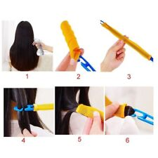 18 Pcs 30cm Hair Curlers Curl Formers Spiral Ringlets Leverage Rollers