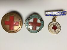 Irish Red Cross Badges Ireland Easter Rising 1916