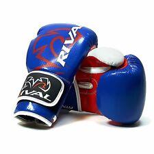 Rival Rb7 Fitness Bolso Guantes Entrenamiento Boxeo Azul Rojo Blanco Elite Saco