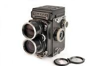 Ex Rolleiflex TLR Tele Carl Zeiss Sonnar 135mm f/4 Camera w/Cap