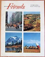 CHEVROLET MAGAZINE ~ FRIENDS ~ JULY 1953