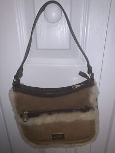 UGG Australia Shearling Small Purse in Excellent Condition