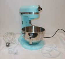 Kitchen Aid Pro 5 Plus Mixer - Ice Blue - 883049515823 Gently Used